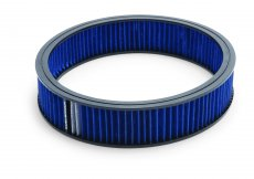 "Pro-Flo 14"" Round Air Cleaner Element Only (Blue)"