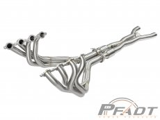PFADT Series Tri-Y Long Tube Header & X-Pipe; Street Series