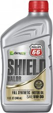 Motorolja Shield Valor Dexos 1 Full Syn. 5W-30 - 1 quart / 0,946 liter