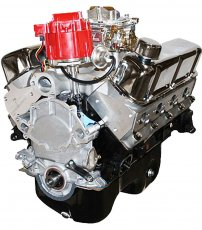 347ci Stroker Crate Engine Dressed Long Block with Carburetor