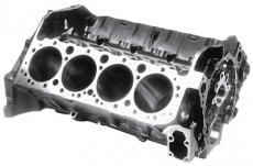 Chevrolet Performance Small Block Bare Engine Block