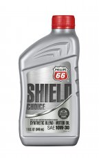 Motorolja 10W-30 Shield Choice (Syntetblandning) - 1 quart / 0,946 liter