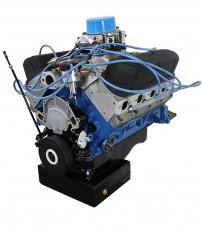 427ci ProSeries Stroker Crate Engine Dressed Longblock with Carburetor