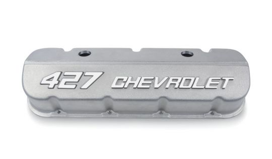 Big Block Valve Covers, 427 Chevrolet, Natural Appearance
