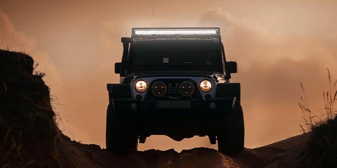 Jeep Wrangler Belysning