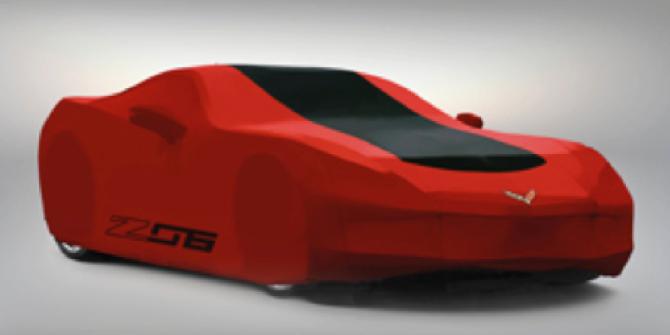Chevrolet Corvette Biltäcken