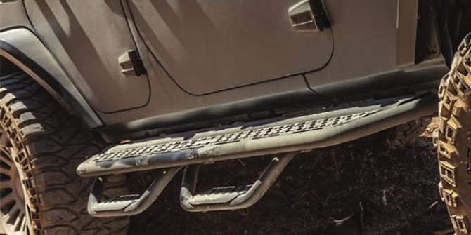 Jeep Wrangler Fotsteg