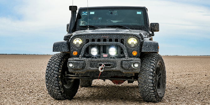 Jeep Wrangler Syling