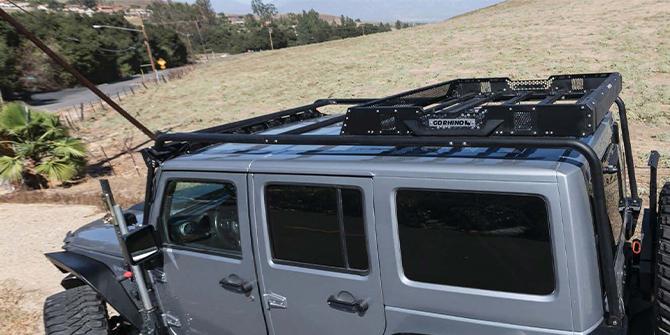 Jeep Wrangler Taklast