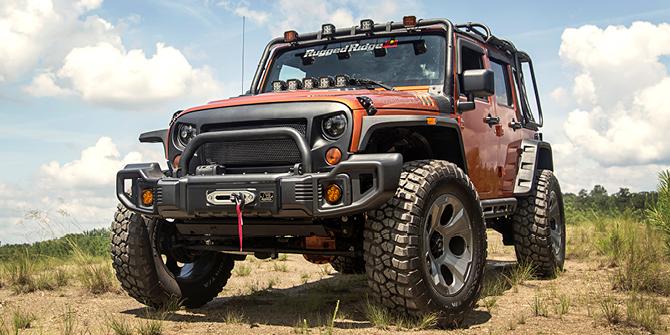 Jeep Wrangler Tillbehör & Styling